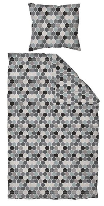 Sengetøj - 100% Bomuldssatin - By Night - 240x220 cm Strygefrit sengetøj