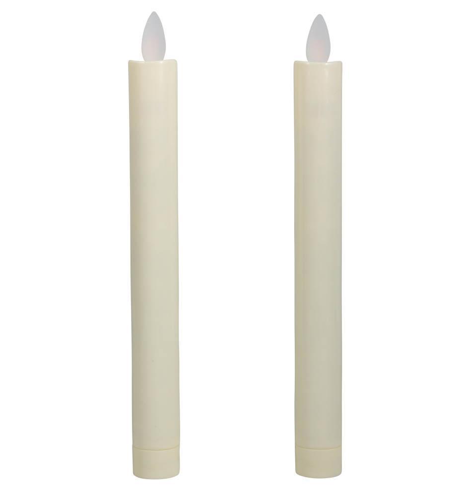 led stearinlys 2 stk stagelys med led lys led stearinlys