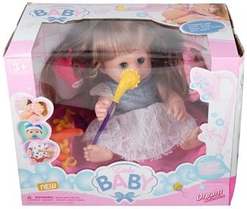 Dukke badekar med dukke som kan tisse og sige lyde