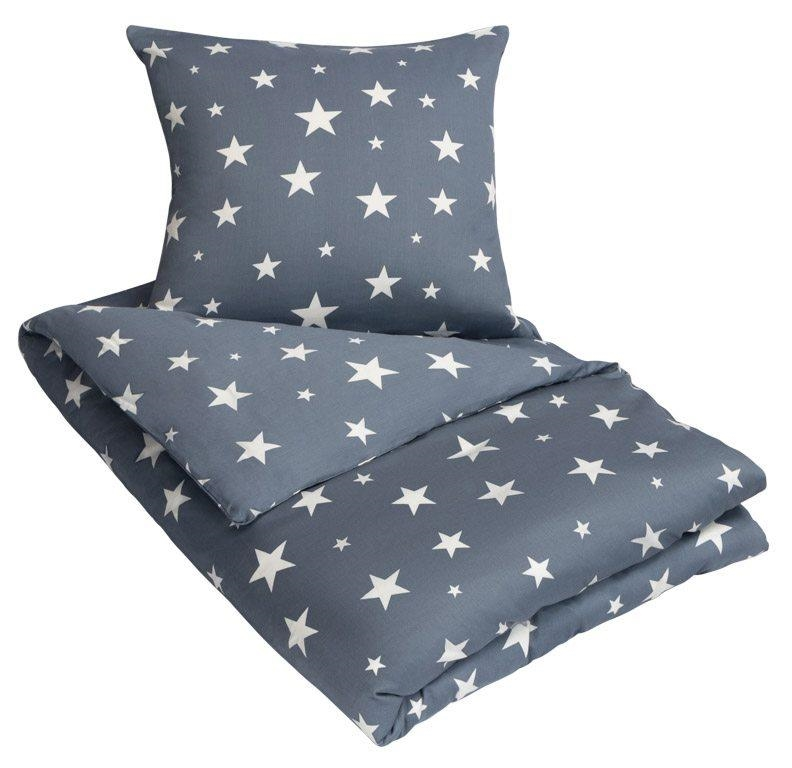 3dc94e99787 Sengetøj - 100% Bomuldssatin - By Night - 200x200 cm Strygefrit sengetøj