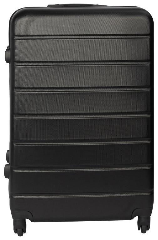 Ultramoderne Kuffert i sort - Stor - Hard case letvægts kuffert. RW-35