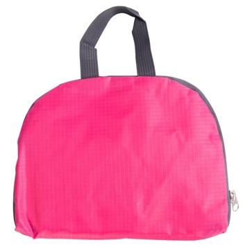 Vandafvisende rygsæk - Pink - Foldbar - 15 liter