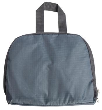 Vandafvisende rygsæk - Grå- Foldbar - 15 liter