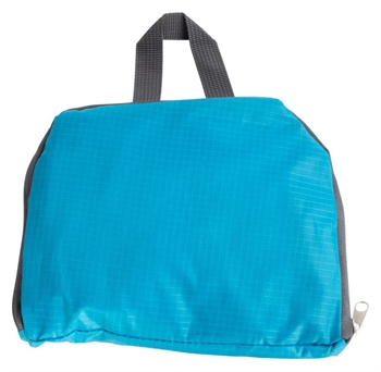 Vandafvisende rygsæk - Blå - Foldbar - 15 liter