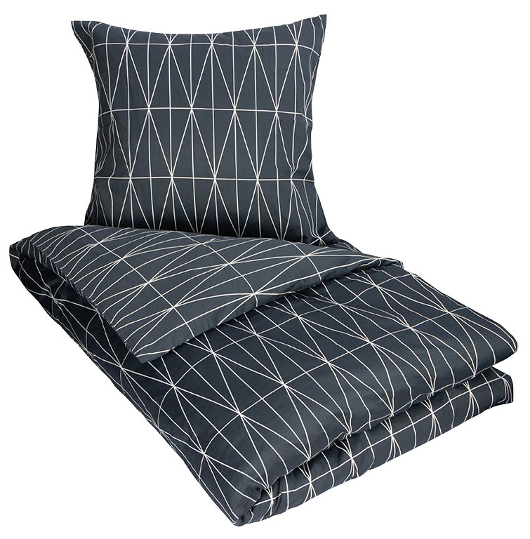 d8cc13b9c04 Sengetøj - 100% Bomuldssatin - By Night - 140x220 cm Strygefrit sengetøj