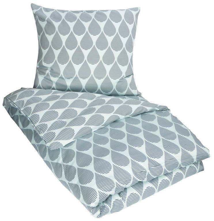 3c6e2a19a05 Sengetøj - 100% Bomuldssatin - By Night - 150x210 cm Strygefrit sengetøj