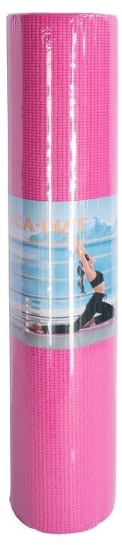 Yogamåtte - Pink - 5 mm. tykkelse - Træningsmåtte