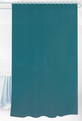 Badeforhæng - Petrol - 180x180 cm - Klar til ophæng