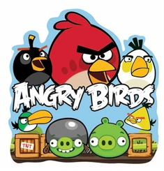 Wall sticker - Angry Birds - 3D effekt