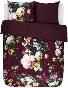 72413a065be Essenza Sengesæt - 140x200 cm - Essenza Fleur Burgundy - sengetøj