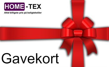 Gavekort til Home-tex.dk