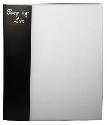 H - split lagen - 100% Bomuldssatin - Hvid - 180x200x8 cm