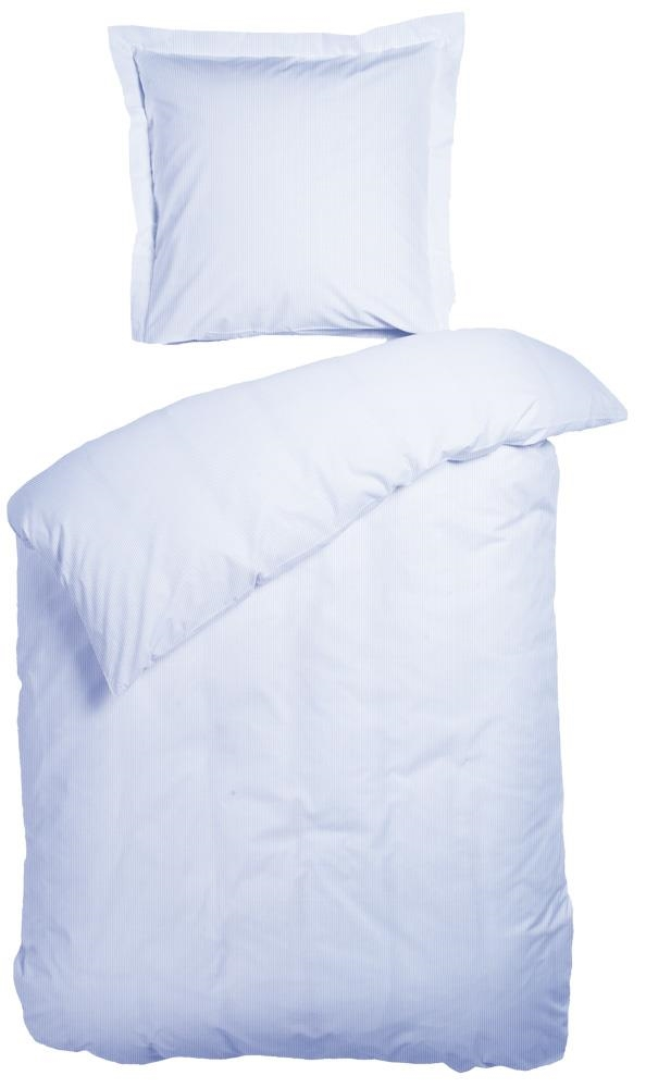 sengetøj egyptisk bomuld Egyptisk bomuld   260x240 cm   Lys blå Night & Day   Sengetøj til  sengetøj egyptisk bomuld